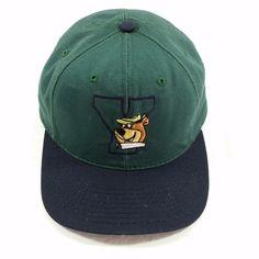 548e7370 Yogi Bear 1994 Snapback Hat Embroidered Yosemite Vintage 90s Blockhead