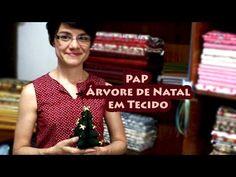 Passo a Passo - Árvore de Natal em Tecido - Paninhos e Afins - Lê Rey
