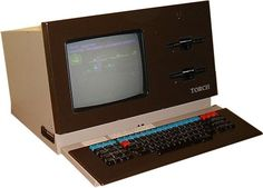 First computer I used, a Torch, running BBC basic or something.
