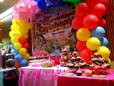 Candy Crush themed kids party