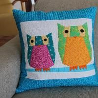 Quilting : The Owl Pillows