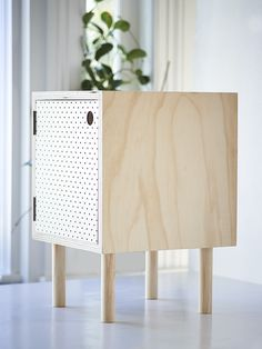 Bedside Table – Ply and white pegboard Decor, Furniture, Furniture Design Modern, Plywood Furniture, Interior Furniture, Rustic Furniture, Cool Furniture, White Pegboard, Furniture Design