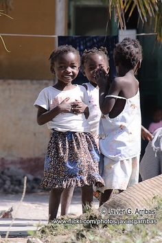 Friends in Mozambique
