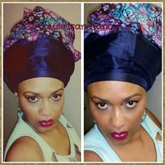 A #gele will dress up your look, and it will give your hair a rest from #hairstyling. Having a bad hair day?  Then try a #gele. It will take a bit of practice at first to be able to tie it, but once you get the hang of it, you can style it anyway you like.