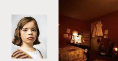 Onde as crianças dormem ao redor do mundo. Delanie com 9 anos, mora em Nova Jérsei nos Estados Unidos.