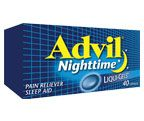 Save $3.00 - Advil Nighttime.  Print and Save with webSaver.ca