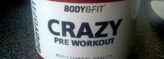 "#Review: Pre-#Workout #Booster Crazy ""Orange Sensation"" von Body & Fit"