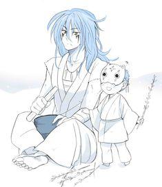 Ao and young Shin-ah (too cute)