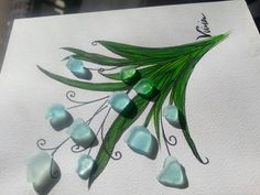 Etsy Vivian Robinson Sea Glass Art