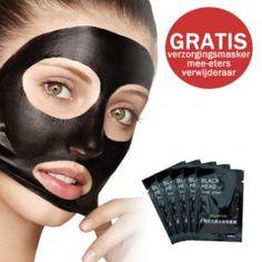 GRATIS Verzorgingsmaskers 5 stuks - Mee-eter verwijderaar (t.w.v. €9,95) - Verzorging voor mannen - Verzorging