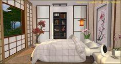 Japanese modern house at Tanitas8 Sims