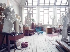 Converted Artist's Studio Museum in Stockholm