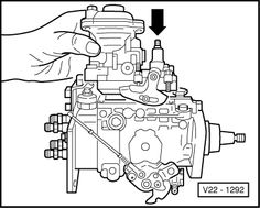 Volkswagen Workshop Manuals > Passat (B3) > Power unit > Diesel ...