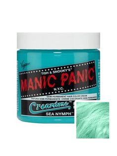 Shop Manic Panic clothing, gifts and accessories at Grindstore, the UK's alternative clothing store. Cabello Manic Panic, Manic Panic Hair Dye, Permanent Hair Dye Colors, Semi Permanent Hair Color, Before I Forget, Semi Permanente, Hair Porosity, Alternative Hair, Pastel Hair
