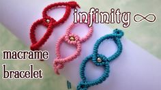 Macrame infinity bracelet tutorial - The most simple and easy armlet you...