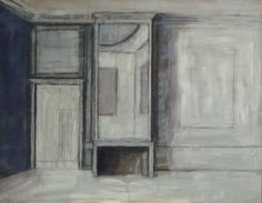Interior of a house in Amsterdam (Holland), 2014, Pierre Bergian, oil on panel. Octavia Art Gallery (in New Orleans). #PierreBergian #Amsterdam #OctaviaArtGallery #NewOrleans