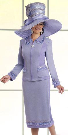 Donna Vinci Knit 13185-Lavender