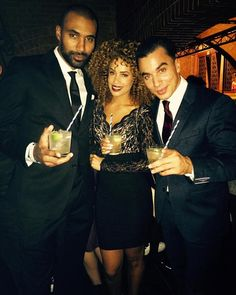 From Facebook Timor Steffens (Oct. 12 2015) Good times at the EMA's #preparty