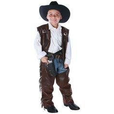 Cowboy Chaps Vest Child Large