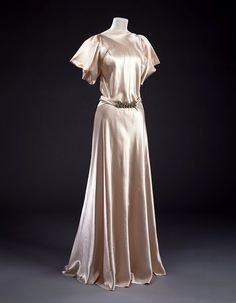 c. 1932 Vionnet gown--From the collections of the Victoria & Albert Museum