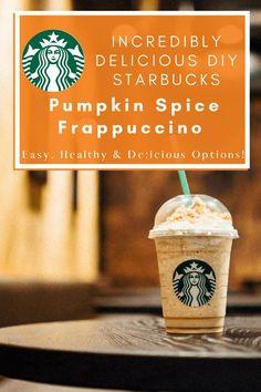 Vanilla Frappuccino, Starbucks Pumpkin Spice Latte, Starbucks Vanilla, Homemade Frappuccino, Pumpkin Spiced Latte Recipe, Starbucks Coffee, Best Starbucks Drinks, Starbucks Recipes, Coffee Recipes