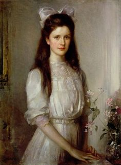 Miss Christian Elspeth Mallock, Edward Arthur Walton