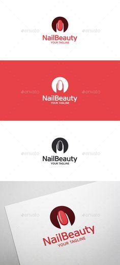 Nail Beauty Logo • Nail Art - Symbols Logo Templates