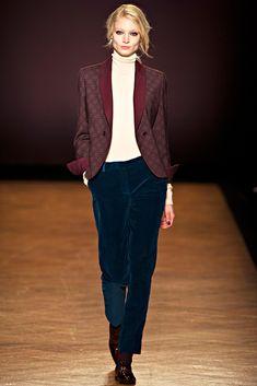 Paul Smith RTW A/W 2012/13.  Model - Melissa Tammerijn.
