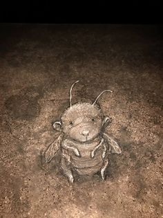 Leslie would gladly give it all up to float like a butterfly instead. — David Zinn, 2016 at Café Zola, Ann Arbor, Michigan
