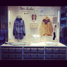 Tom Sachs x Nike Craft Window Display at Colette Retail Windows, Store Windows, Retail Stories, Nike Retail, Retail Concepts, Retail Store Design, Visual Aids, Visual Display, Retail Interior