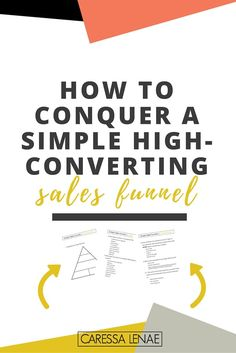 How To Conquer A Simple High-Converting Sales Funnel