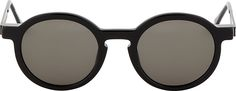 Thierry Lasry - Black Sobriety Sunglasses