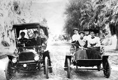 Fresno: Kearney Boulevard was a popular spot in the early 1900s for a Sunday drive.