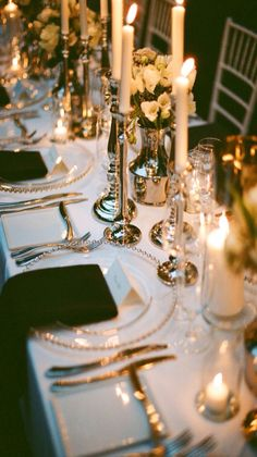 #Luxury Table Setting - #Luxurydotcom