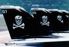 """The """"Jolly Rogers"""" - Navy Strike Fighter Squadron 103 (VF-103)"""