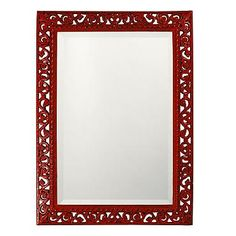 Bristol Rectangular Mirror - the red is a must for Chinese New Year