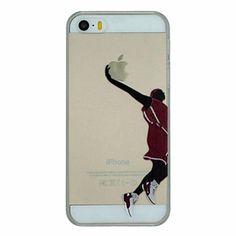 série de basket-ball des motifs slam dunk pc dur transparent cas de couverture…