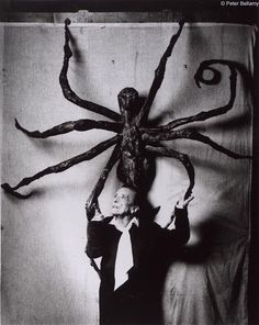 """""""My art is a form of psychoanalysis. I was able to exorcise my demons through art."""" Louise Bourgeois"""