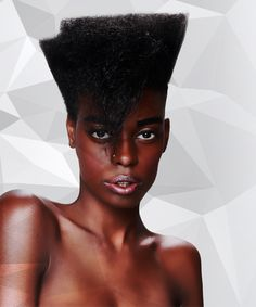 How To Do A Round Layer With An Undercut On Afro Hair
