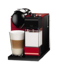 Buy #NespressoCoffeeMachine, #DeLonghi Lattissima Plus from #TheCapsuleCo