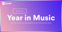 Relive the music and the moments that made 2015 one to remember. Get your Year in Music.