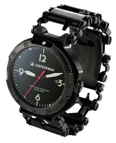 The Leatherman Tread — браслет из 25 инструментов + часы