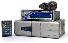 A3751 + A1341N - Audiobahn Car CD/MP3 Player & 10 Disc CD Changer Package (allows for US and European tuning) by AudioBahn. $189.99. A3751 - Audiobahn CD-R/RW/MP3 Receiver   * 4-channel high-power 200 watt amp (50 x 4)  * Front, Rear and Subwoofer RCA Preouts  * Subwoofer Level and Frequency Control  * 5V RCA Output  * A-Bass bass-boost control  * CD text  * Motorized slide-down detachable front panel  * VFT (Vacuum Florescent Display)  * Moving graphic display / Full DSP (Digita...