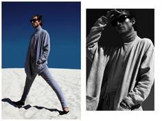 Wilhelmina model Timothee for The Fashionista, photographed by Lucas Menezes
