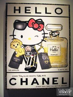 Hello Kitty Chanel