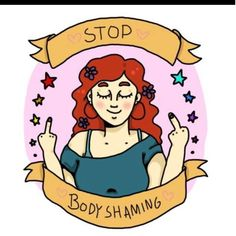 Stop body shaming. »» {body positive image quotes} »» #effyourbeautystandards » #losehatenotweight » #riotsnotdiets » #radicalbodylove » #mybodymyrules