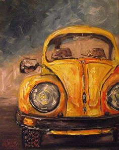 Its A Bugs Life Painting by Angela Sullivan