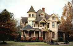 Queen Anne Victorian Home Plans | Queen Ann/Victorian Design Home Aurora Indiana