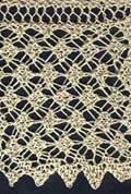 Free Knitting Patterns for Lace Edgings and Insertions at Knitting-and.com
