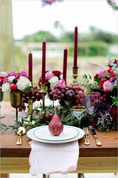 fruit place card ideas #placecards @weddingchicks